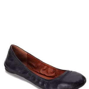 Lucky Brand Emmie leather flats - black 9.5